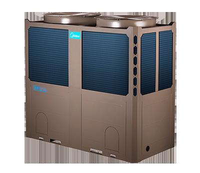 美的空气源热泵机组130kw H型风冷模块LSQWRF130M/AN1-H2