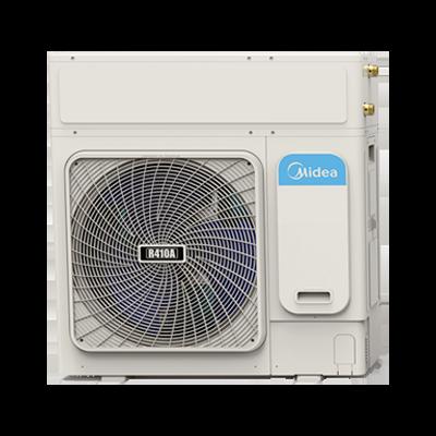 美的商用侧出风循环式空气能热水机RSJ-200/MSN1-5R0